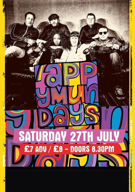 APPY MUNDAYS - SAT 27TH JULY