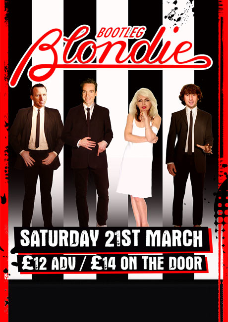 BOOTLEG BLONDIE - SAT 21ST MARCH