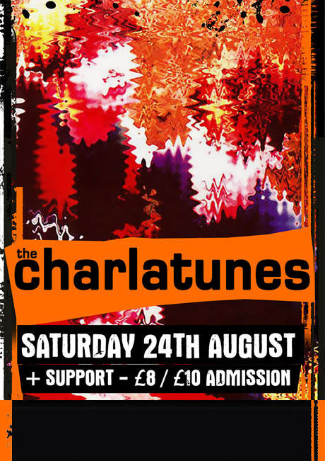 THE CHARLATUNES - SAT 24TH AUGUST