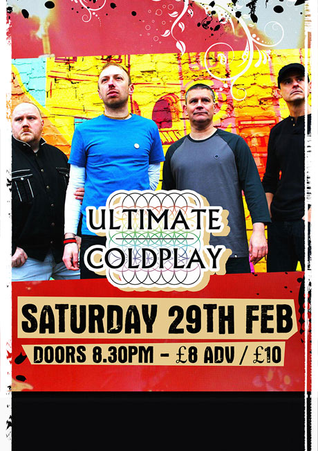 ULTIMATE COLDPLAY - SAT 29TH FEB