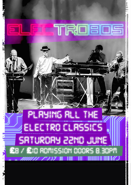 ELECTRO 80s - SAT 22ND JUNE
