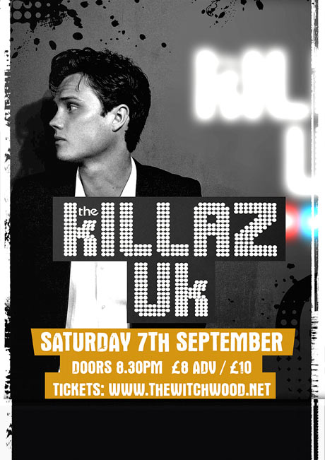 THE KILLAZ UK - SAT 7TH SEPT