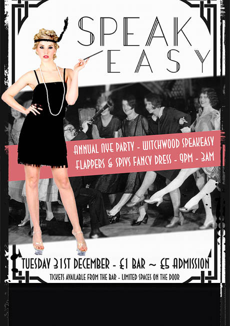 NEW YEARS EVE PARTY - TUES 31ST DEC