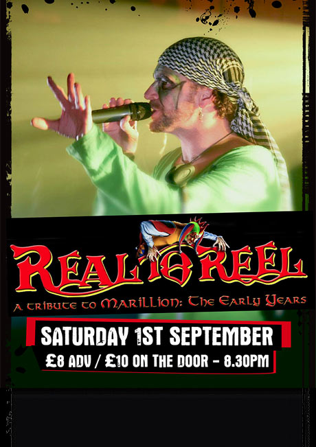 REAL TO REEL - SAT 1ST SEPT