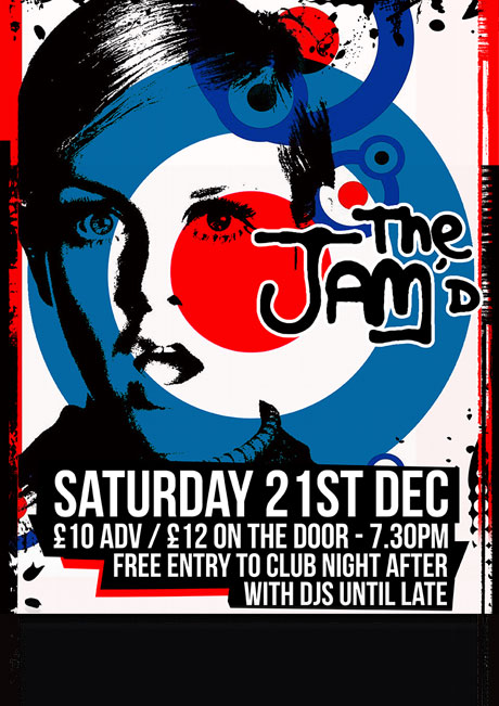 THE JAM'D - SAT 21ST DEC